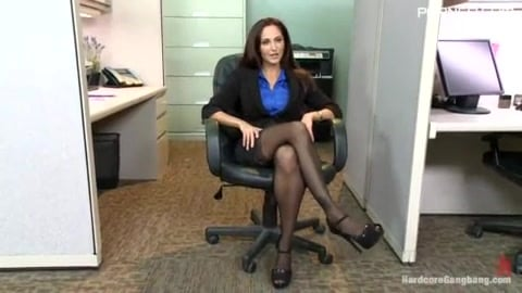 Office Gangbang for Ava Addams