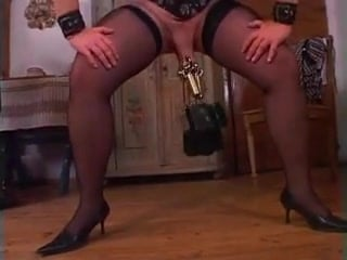 Vintage German BDSM - Fisting booty and Stretching snatch