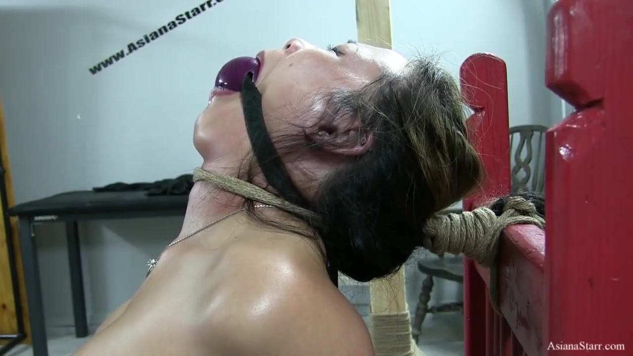 giant Ball Gag in Ropes
