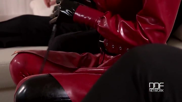 Latex Lucy Threesome