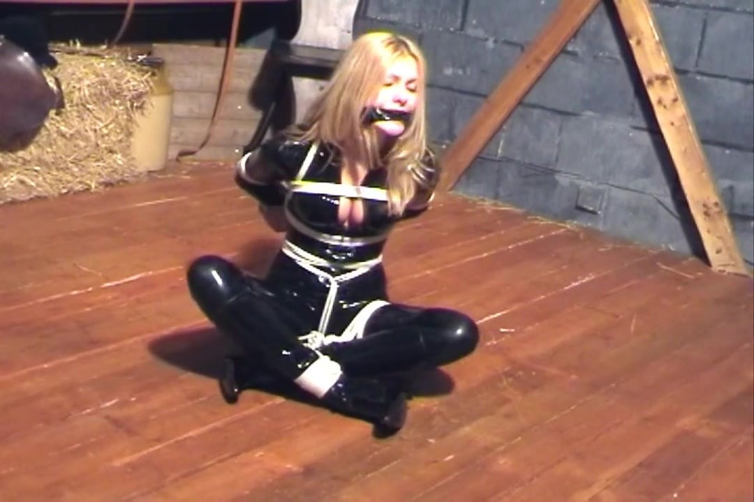 Natasha Marley in Rubber Catsuit