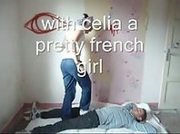 French Femdom CBT and Trampling