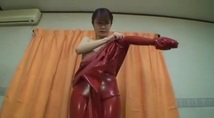 ebony and Red Rubber