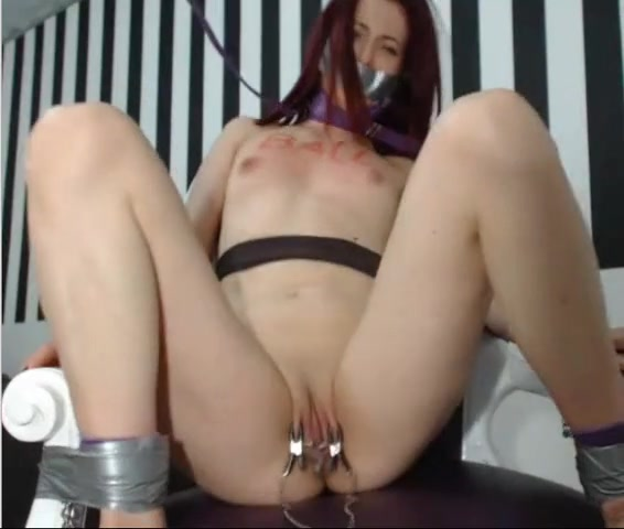 Clamped punished and humiliated bitch
