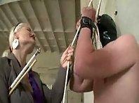 Two German Mistresses - CBT - Punishment - Femdom
