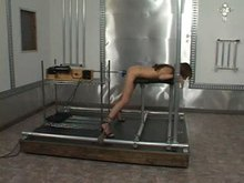 Restrained with Fucking Machine