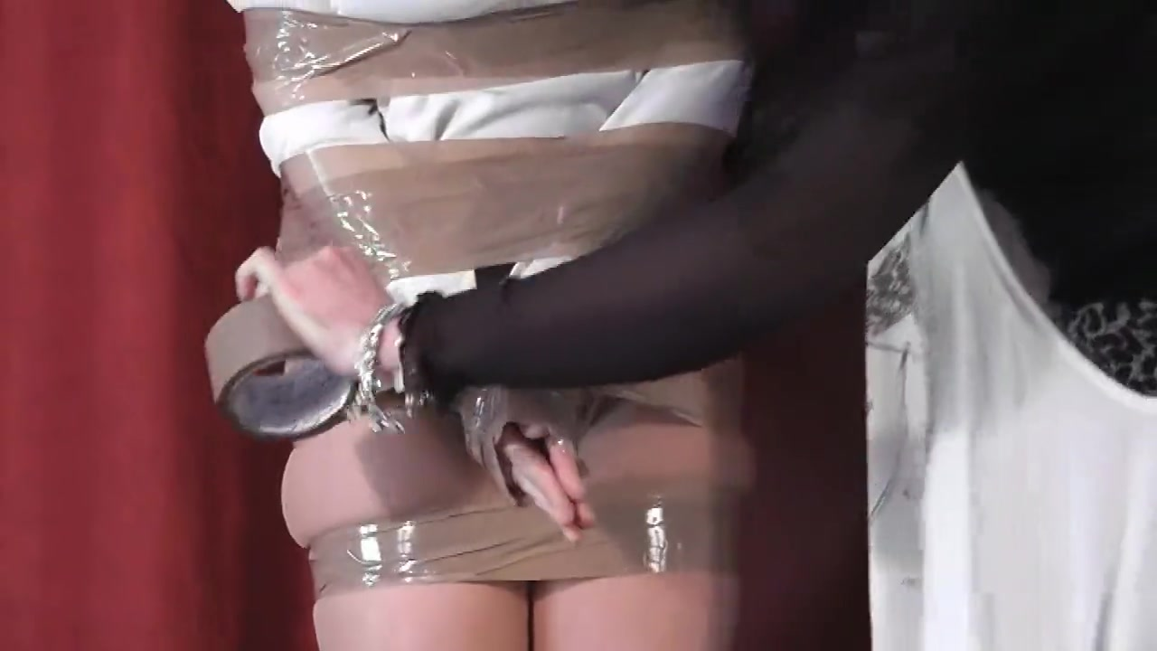 Tight tape Bondage