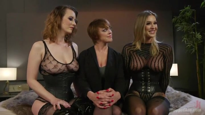 Kleio Valentien, Cherry Torn and Dee Williams - Lezdom
