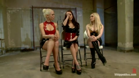 Hardcore Lezdom Party - Gia DiMarco, Lorelei Lee, Aiden Starr and Maitresse Madeline Marlowe