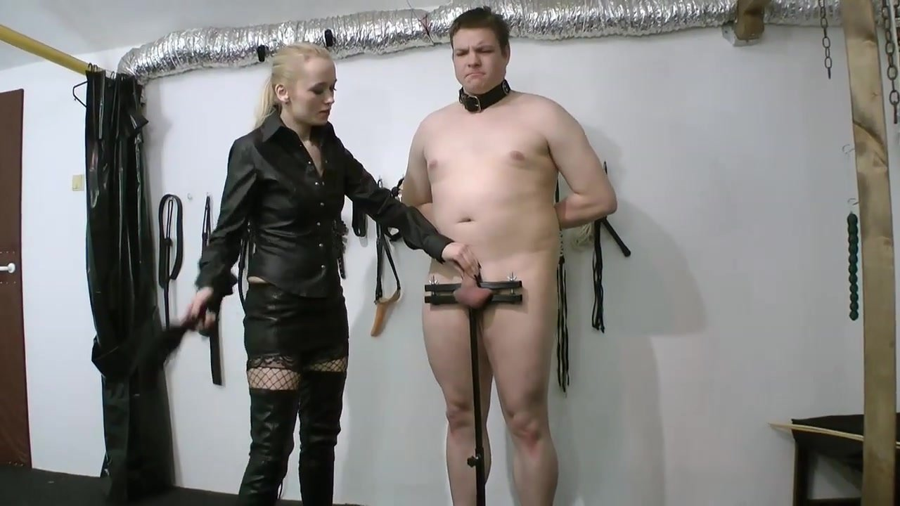 cock Punishment in Standing Humbler