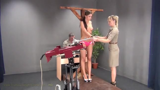 Little Caprice and Tit Whipping Machine