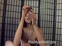 CBT - Asian Mistress Torturing Peehole