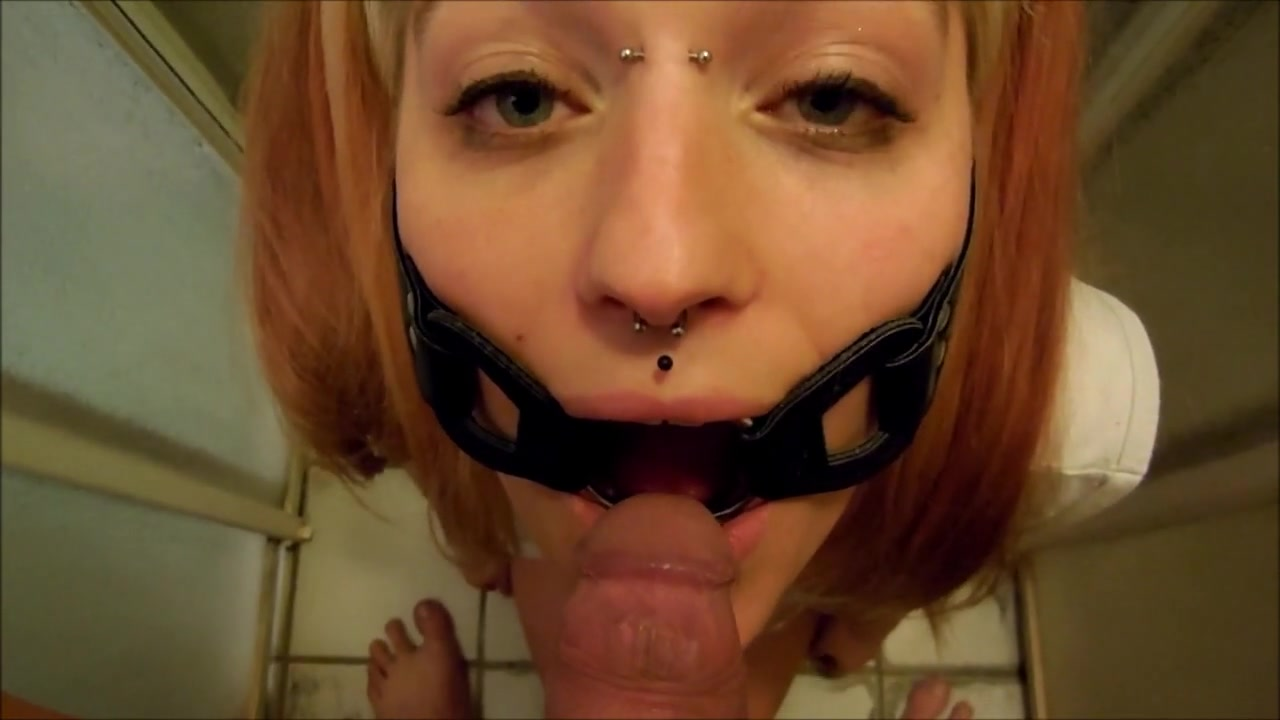 Ring Gagged Piss skank