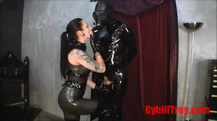 Cybill Troy - rod Pillory Torture