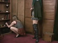 Bound and Gagged for her Mistress