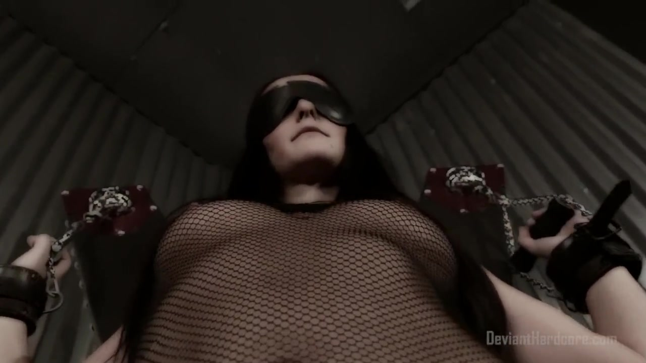 Throatfucked and Restrained