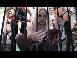 Slave Strapon Gangbanged - Part 1