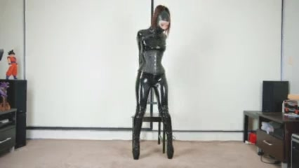 Catsuit Rubber and Armbinder