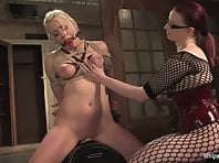 Lorelei Lee and Claire Adams - Sybian and domination