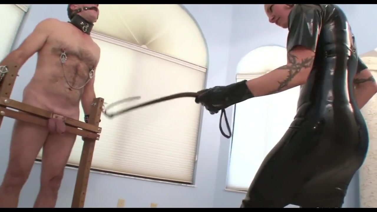 Brutal Ball Whipping and Sounding