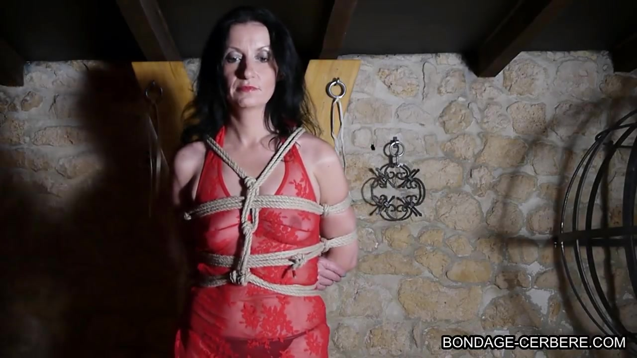 French maledom with Shibari in dungeon