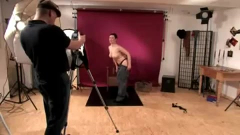 Brutal German Punishment on photo shoot