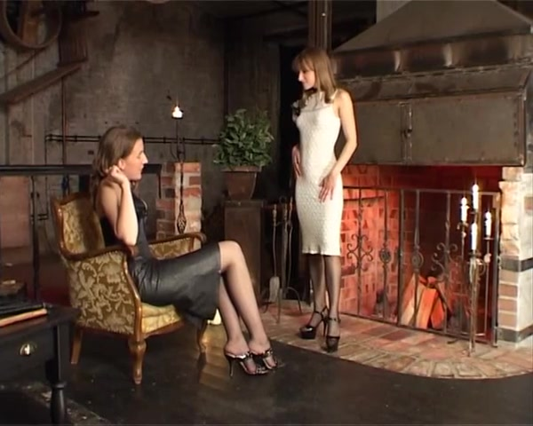 Lesbian Over The Knee Spanking and Domination