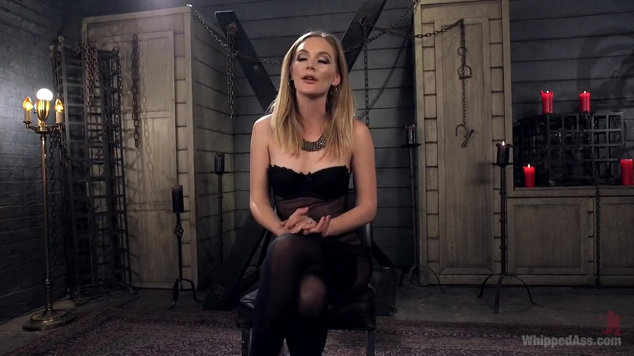 Aiden Starr dominates Mona Wales with Maitresse Madeline