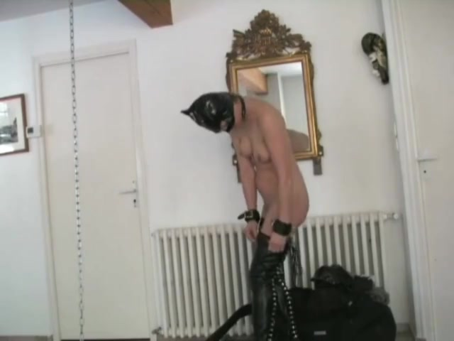 French Slave Whipped - Homemade