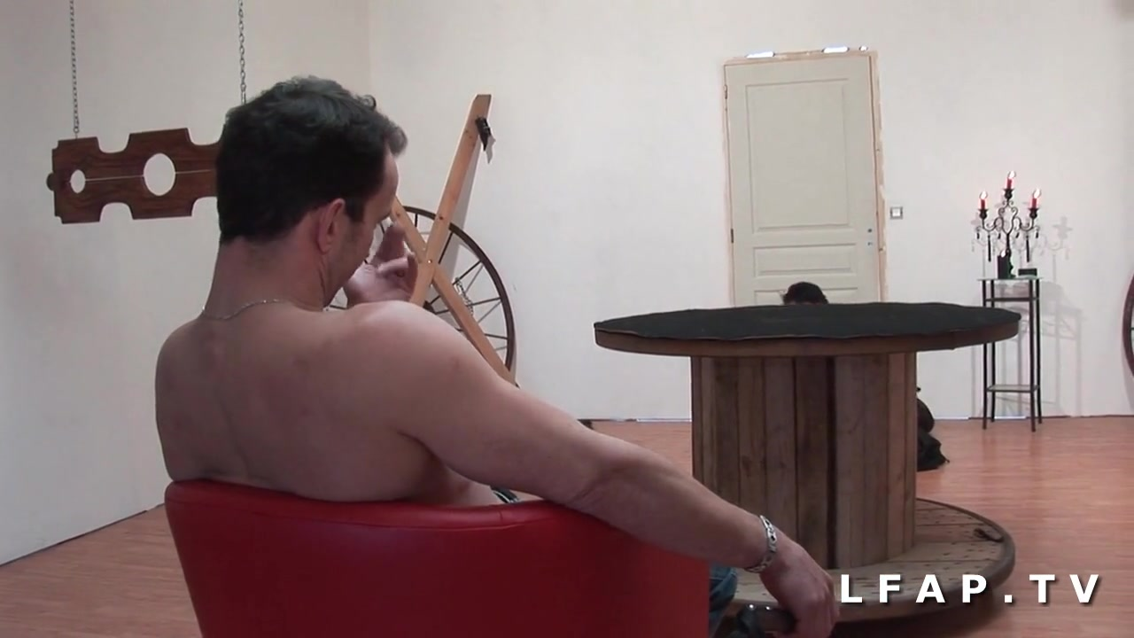 skinny Brunette - French Hardcore BDSM