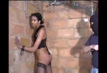 French Vintage - black Slave and White Master