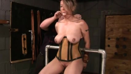 boobs tied up for squeezing