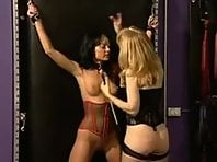 Cute slave girl and her Mistress