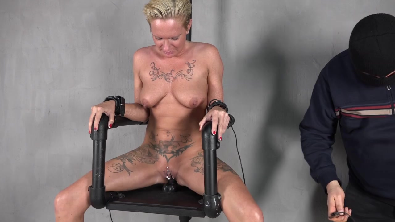 Shock and orgasm Chair