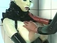 Kinky Rubber Lezdom Strap-on