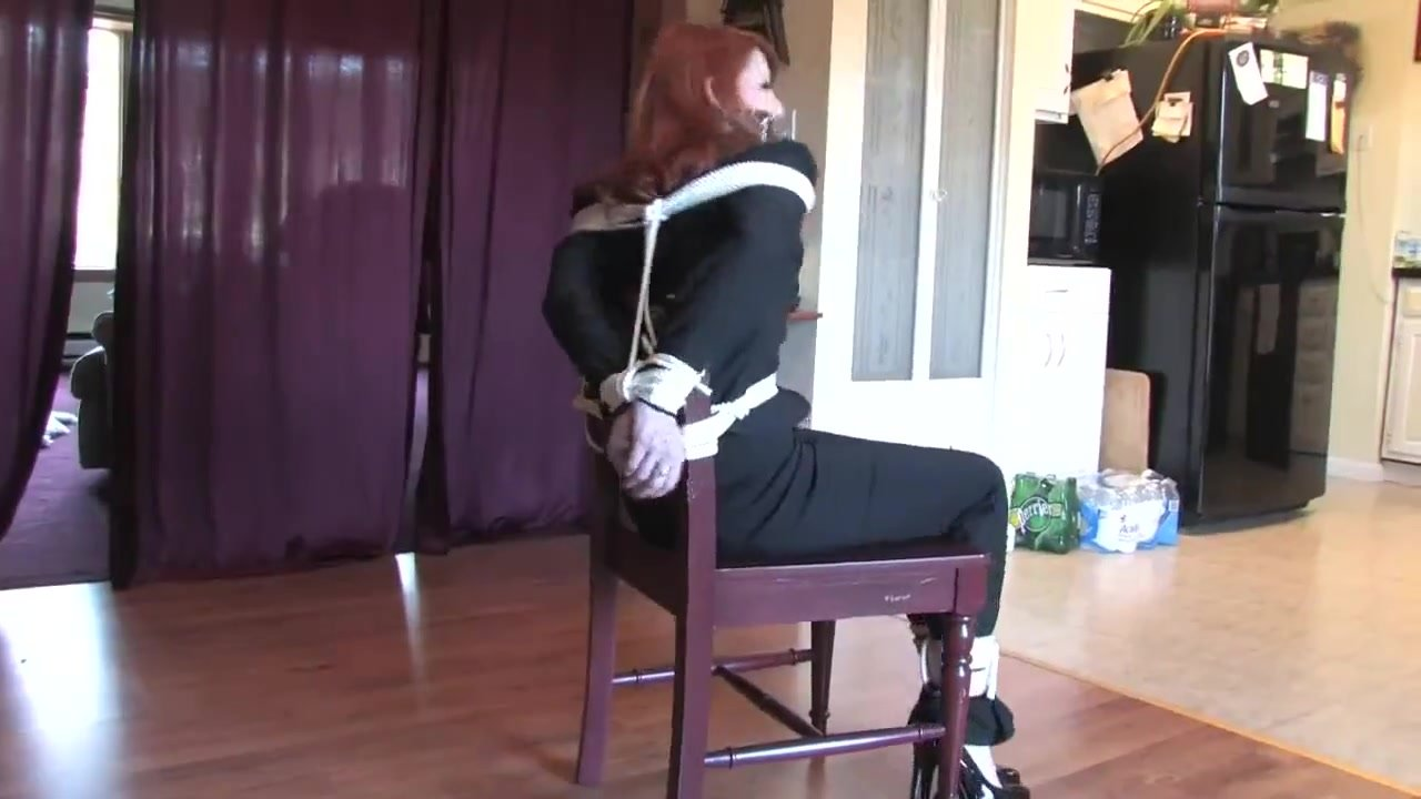 Escape Attempt from Chair Bondage