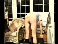 Caning and disciplining that ass