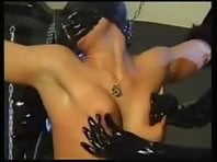 Lesbian Rubber BDSM with Strap-ons