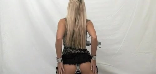 blondy in Chastity