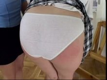 Spanking - Red booty