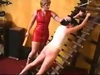 Lezdom Latex Mistress Punishes