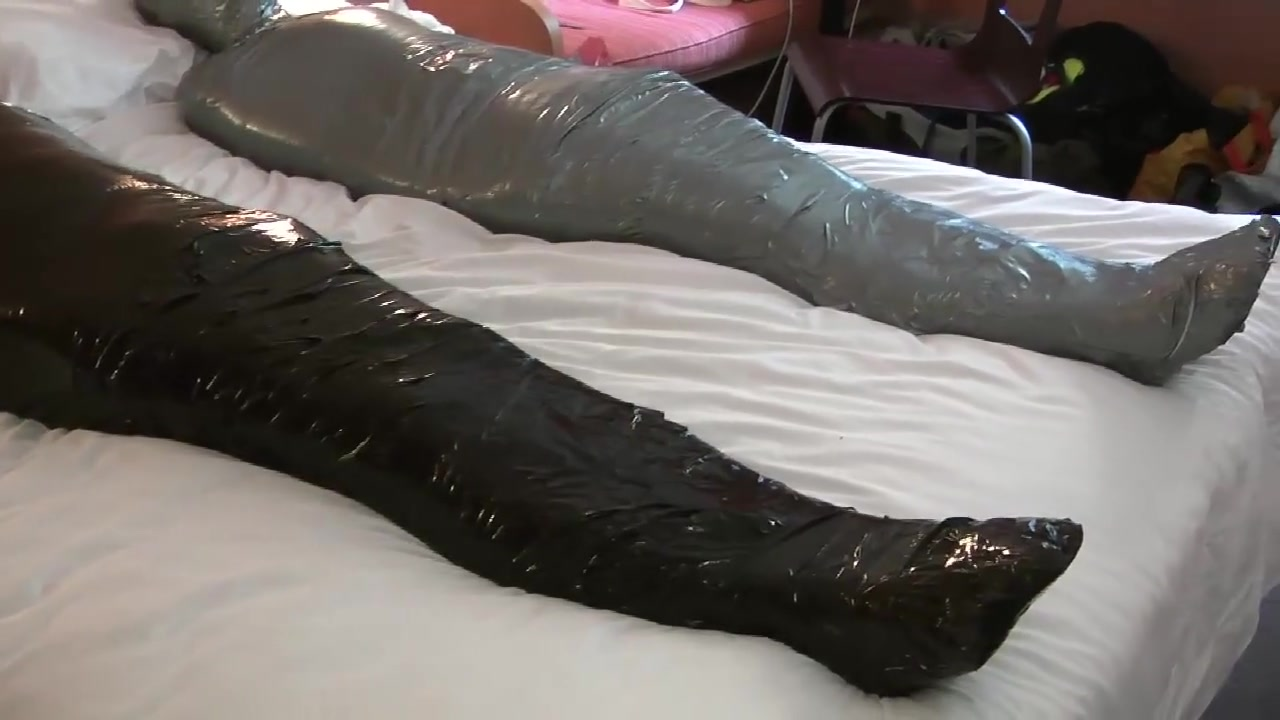 Wrapped in Duct video and Encased in Rubber