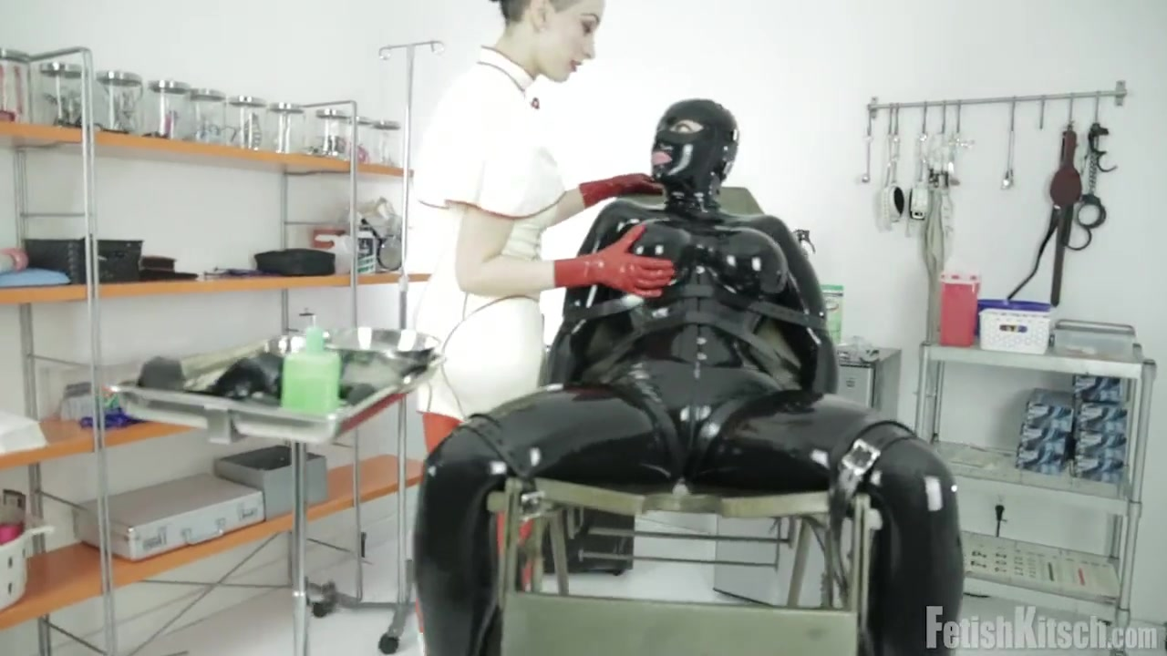 Latex Slave - Medical Play