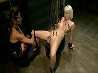 Lesbian Masochist Punished By Sadistic Mistress