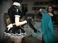 Lesbian Rubber BDSM - Anal and Electro