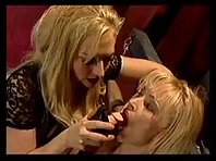 Gagged and Bound - Lesbian BDSM