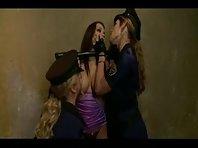 Two Elegant Mistresses punishing their Slavegirl