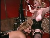 Lesbian Threesome - Mistress and two slave girls