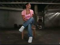 Extreme Lesbian Punishment in cellar