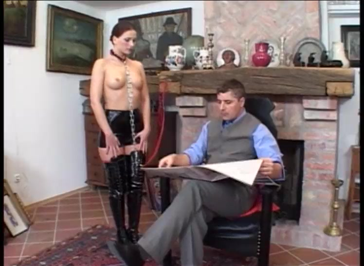 German Slave Used By Multiple males